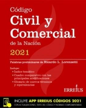 Libro Codigo Civil Y Comercial De La Nacion 2021