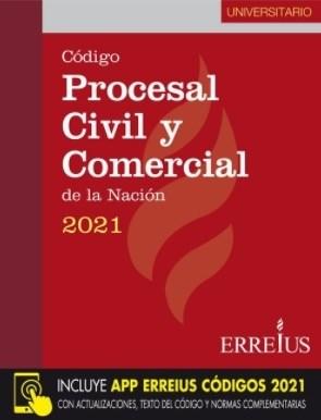 Libro Codigo Procesal Civil Y Comercial De La Nacion 2021 ( Universitario )