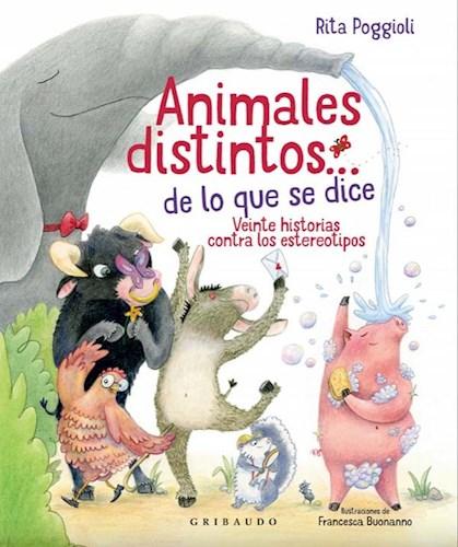 Libro Animales Distintos... De Lo Que Se Dice
