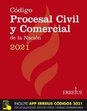 Libro Codigo Procesal Civil Y Comercial De La Nacion 2021