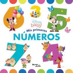 Libro Disney Baby  Mis Primeros Numeros