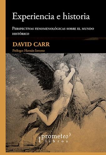 Libro Experiencia E Historia .Perspectivas Fenomenologicas Sobre El Mundo Histori