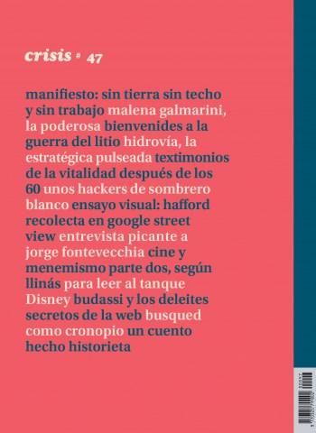 Libro Revista Crisis Nro 47