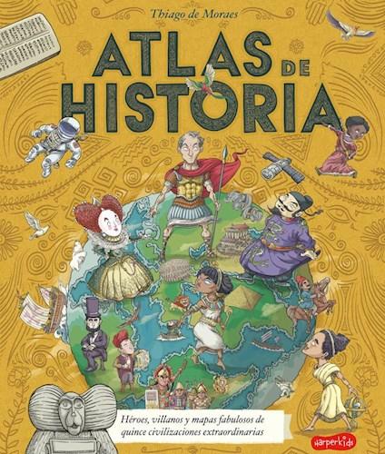 Libro Atlas De Historia