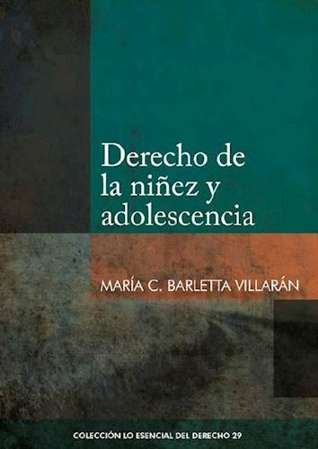 Libro Derecho De La Niñez Y Adolescencia