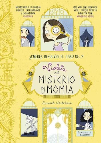 Libro Violeta Y El Misterio De La Momia