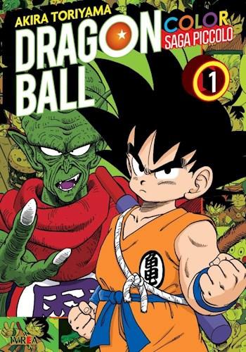 Libro 1. Dragon Ball Color : Saga Piccolo