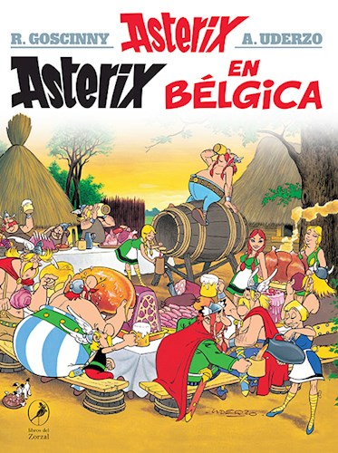 Libro 24. Asterix En Belgica